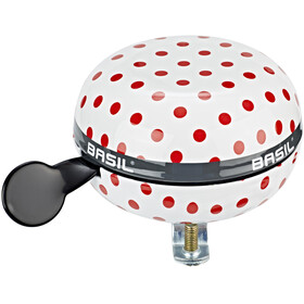 Basil Big Bell Polkadot Glocke white/red dots